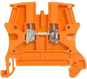Блок клеммный Viking3 4кв.мм шаг 6мм неотключ. цепь Leg 037121