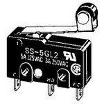 SS-01GL2-F, Переключатель, 0.1A, ROLLER, SPDT, SOLDER