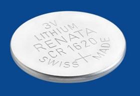 CR 1620 (батарейка литиевая Li/MnO2, 68mAh, 3V)NEW