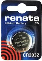 CR 2032 (батарейка литиевая Li/MnO2, 225mAh, 3V) NEW