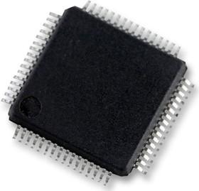 LPC11U37HFBD64/4QL, Микроконтроллер 32 бита, ARM Cortex-M0, 50 МГц, 128 КБ, 10 КБ, 64 вывод(-ов), LQFP