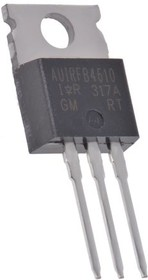 Фото 1/2 AUIRFB4610, MOSFET N-CHANNEL 100V 73A HEXFET TO220AB