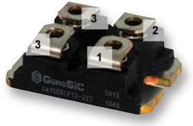 DH2X61-18A, Модуль диода, серия Sonic-FRD, 1.8 кВ, 60 А, 2.61 В, Двойной Изолированный, Sonic-FRD Series