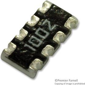 TC164-FR-0733KL, Фиксированный резистор цепи, 33 кОм, 50 В, 4 элемент(-ов), Изолированный, 1206 [3216 Метрический]