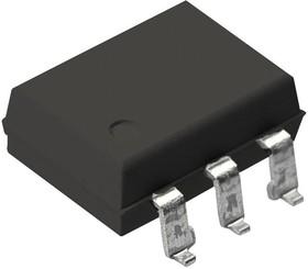 MOC8050SR2VM, Оптопара, Darlington Output, 1 канал, Поверхностный Монтаж DIP, 6 вывод(-ов), 60 мА, 7.5 кВ, 500 %