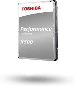Фото 1/3 HDWR21CUZSVA, Накопитель на жестком магнитном диске TOSHIBA Жесткий диск TOSHIBA HDWR21CUZSVA X300 BULK High-Perfo