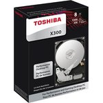 Фото 3/3 HDWR21CUZSVA, Накопитель на жестком магнитном диске TOSHIBA Жесткий диск TOSHIBA HDWR21CUZSVA X300 BULK High-Perfo