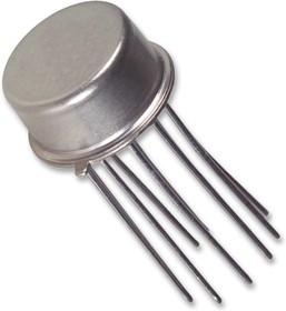 Фото 1/4 OPA111AM, Операционный усилитель, одиночный, 1 Усилитель, 2 МГц, 2 В/мкс, ± 5В до ± 18В, TO-99, 8 вывод(-ов)
