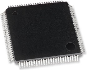 EFM32GG380F1024-QFP100T, Микроконтроллер 32 бита, ARM Cortex-M3, 48 МГц, 1 МБ, 128 КБ, 100 вывод(-ов), LQFP