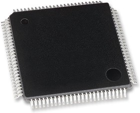 71M6543F-IGT/F, POLYPHASE ENERGY METERING IC, LQFP-100