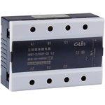 HHG1-3/032F-38-15A, Реле 3-32VDC, 15A/440VAC (zero-cross) трехфазное
