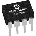 Фото 2/2 24FC256-I/P, EEPROM, I2C, 256 Кбит, 32К x 8бит, 1 МГц, DIP, 8 вывод(-ов)