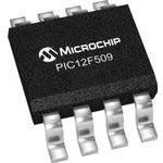Фото 3/5 PIC12F509-I/SN, Микроконтроллер 8-Бит, PIC, 4МГц, 1.5КБ (1Кx12) Flash, 6 I/O [SO-8]