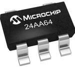 Фото 1/2 24AA64T-I/OT, EEPROM, AEC-Q100, Serial I2C (2-Wire), 64 Кбит, 8К x 8бит, 400 кГц, SOT-23, 5 вывод(-ов)