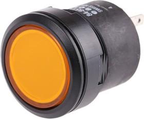EUK-762-2477.0001, Push button,yellow lens,1