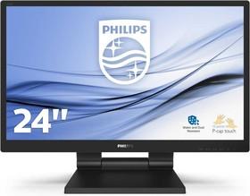 Фото 1/8 242B9T, Монитор жидкокристаллический Philips Монитор LCD 23.8'' [16:9] 1920х1080(FHD) IPS, GLARE, TOUCH, 250