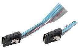 Фото 1/3 CBL-0281L, Кабель SuperMicro CBL-0281L SFF-8087 to SFF-8087 Internal Backplane Cable 0.75м