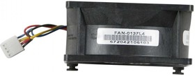 Фото 1/3 FAN-0137L4, Вентилятор SuperMicro 80x80x38 mm 10.5K RPM SC217, SC827 Chassis Middle Fan