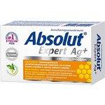 Absolut Expert Ag+ мыло твердое антибактериальное Серебро+Прополис 90г, Мыло