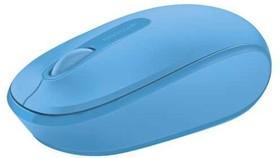 Фото 1/8 U7Z-00058, Мышь Microsoft Wireless Mbl Mouse 1850Win7/8 EN/AR/CS/NL/FR/ EL/IT/PT/RU/ES/UK EMEA EFR CyanBlue