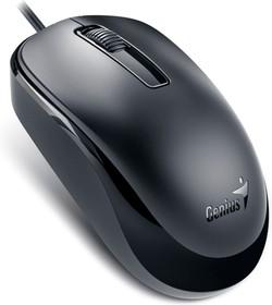 31010106100, Мышь Genius DX-125, USB (чёрная, оптическая 1000dpi)