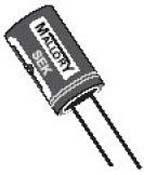SEK100M063ST, ALUMINUM ELECTROLYTIC CAPACITOR 10UF, 63V, 20%, RADIAL