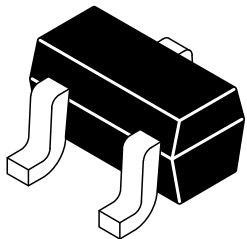 Фото 1/2 SBAW56WT1G, Rectifier Diode Small Signal Switching 0.2A 6ns Automotive 3-Pin SC-70 T/R
