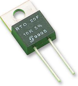 RTO050F68000JTE1, Резистор, Radial Leaded, 6.8 кОм, 50 Вт, 500 В, ± 5%, RTO 50 Series, Толстая Пленка