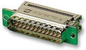 09 66 128 7700, Разъем D Sub, DB9, Standard, Штекер, Серия D Tin And Dimple, 9 контакт(-ов), DE, IDC / IDT