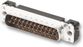 09 65 261 6712, Разъем D Sub, Standard, Штекер, Серия D Sub PCB Connectors, 15 контакт(-ов), DA, Пайка