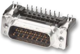 09 65 362 6812, Разъем D Sub, угловой, Standard, Штекер, Серия D Sub PCB Connectors, 25 контакт(-ов), DB, Пайка