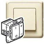 Механизм светорегулятора кнопочного СП Cariva 500Вт сл. кость Leg 773715