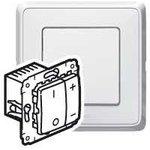 Механизм светорегулятора кнопочного СП Cariva 500Вт бел. Leg 773615