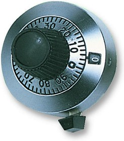 28A11B10, COUNTING DIAL, 21 TURN, 6.35MM