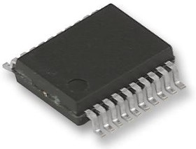 AD7305BRZ, DIGITAL TO ANALOG CONVERTER DAC, 8 BIT, 1MSPS, SOIC-20