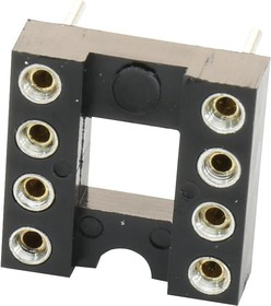2227MC-08-03-18-F1, ИС и гнездо компонента, 8 контакт(-ов), Гнездо DIP, 2.54 мм, Серия 2227MC, 7.62 мм