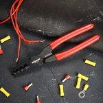 12-3209, Пресс-клещи для обжима втулочных наконечников 10-35 мм² (HT-35M)
