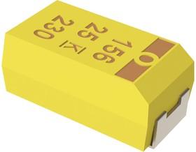 T494A104K050AT, TANTALUM CAPACITOR, 0.1UF, 50V