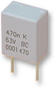 BFC247076684, Пленочный конденсатор, 0.68 мкФ, PET (Полиэфир), 63 В, Серия MKT470, ± 5%, Радиальные Выводы