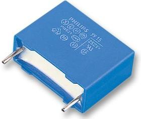 BFC233841155, Пленочный помехоподавляющий конденсатор, 1.5 мкФ, 300 В AC, Серия MKP3384 X2, ± 20%