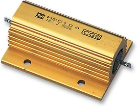 HSC10033RJ, Резистор, Solder Lug, 33 Ом, 100 Вт, 1.9 кВ, ± 5%, Серия HSC, Проволока