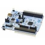 Фото 2/2 NUCLEO-F410RB, Отладочная плата на базе MCU STM32F410RBT6 (ARM Cortex-M4), ST-LINK/V2-1, Arduino-интерфейс