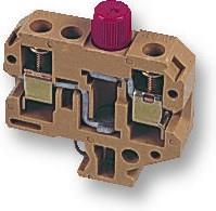 021112 SAKS3, Клеммная колодка с предохранителем, 2 вывод(-ов), 22AWG до 8AWG, 10 мм², Винт, 8 А, 600 В