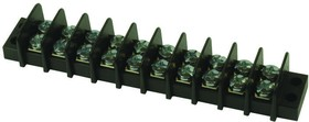 38760-0110, TERMINAL BLOCK, BARRIER, 10POS, 14AWG