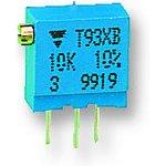 Фото 2/2 T93XB504KT20, 500 кОм, 0,5 Вт, Резистор подстроечный