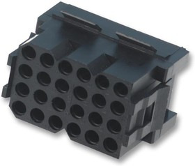 TST02RA00, Корпус разъема, Серия Trident TST, Гнездо, 2 вывод(-ов), Контактами Trident T2P или T3P