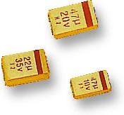 MCCTB106M016, Surface Mount Tantalum Capacitor, 10 мкФ, 16 В, Серия MCCTB, ± 20%, 1411 [3528 Метрический]