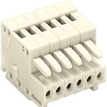 0733-0102, TERMINAL BLOCK PLUGGABLE, 2 POSITION, 28-20AWG