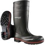 Acifort A442031 Black size 42, Steel Toe Unisex Safety Boots, UK 9