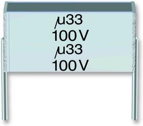 B32562J3474K000, Пленочный конденсатор, 0.47 мкФ, PET (Полиэфир), 250 В, Серия B32562, ± 10%, Радиальные Выводы